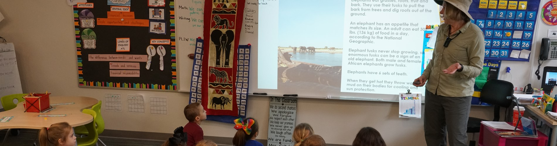 Students Learn about africa